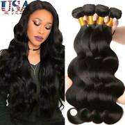 8-30 Inch Sew In Malaysian Virgin Human Hair Extensions Weave Weft Body Wave Us