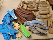 Thomas And Friends Plastic Track Lot Of 113 Connecting Train Piece Used See Detail