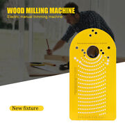 Round Circle Cutting Jig For Wood Trimmer Plunge Router Accessories Tool R6h6