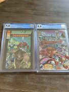Youngblood Yearbook 1 Cgc 9.8 And Youngblood Battlezone 1 Cgc 9.4