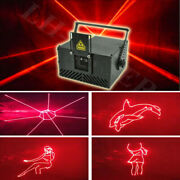 Animation Red 2w Ilda+sd Card Laser Stage Light For Home Party Club Lamp 25kpps