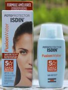 Isdin Fotoprotector Fusion Water Oil-free Sunscreen Spf50+ 50ml 1.69oz