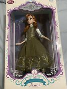 New In Box Disney Store Limited Edition Anna Doll - Frozen - 17and039and039 Frozen Fever