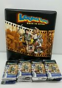 Looney Tunes Back In Action Trading Cards 36 Packs + Maching Binder Deal