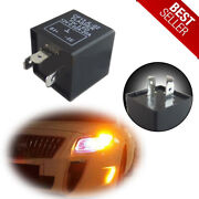 3-pin Led Flasher Relay Cf13 Ep34 Decoder For Turn Signal Light Hyper Flash Fix