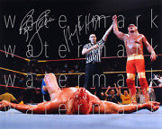 Hulk Hogan And Ric Flair Signed 8x10 Inch Photo Picture Poster Autograph Rp