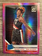 2019 Panini Optic Nassir Little Pink Prism Rookie Card Sold As Is In Top Loader