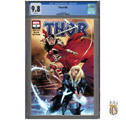 Thor 4 2020 1st Cameo Appearance Of Black Winter [cgc 9.8] 1st Print