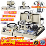 Usb 4axis 1.5kw Cnc 6040z Router Engraving Machine Metal Non-metal W/ Controller