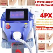 808nm Diode Laser Freezing Painless Permanent Body Face Hair Removal Machine