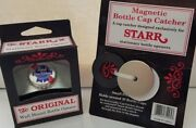 Starr Bottle Opener Pabst Blue Ribbon And Magnetic Cap Catcher Wall Mount Bar Beer