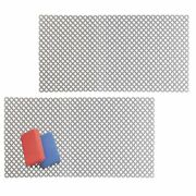 Mdesign Plastic Kitchen Farmhouse Sink Protector Mat, X-large, 2 Pack - Gray