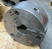 12.5 Rohm 3 Jaw Lathe Chuck 315 Duro Made In Germany 12-1/2