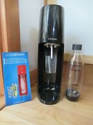 Soda Stream Sparkling Water Starter Kit With Bottle Barely Used