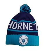 Mitchell And Ness Charlotte Hornets Nba Beanie Winter Hat - One Size