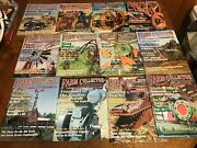 Farm Collector Magazine Lot Of 12 Complete Year 2000 Vintage Tractor Antique