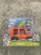 Us Seller Bluey Heeler 4wd Family Vehicle With Bandit The Dad Bluey Car Instock