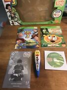 Toy Story 3 Special Woody Leap Frog Tag Reader Reading System Books Tested