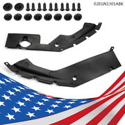 Engine Bay Side Panel Covers Fit For 16-18 Honda Civic 10th Gen - Long Version