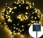 Multi-colors Led Christmas Lights Solar String Light On/off And 8 Mode Switching
