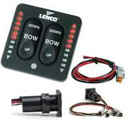 Lenco Led Indicator Integrated Tactile Switch Kit W/pigtail F/actuator Systems