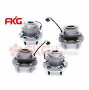 4 Front And Rear Wheel Bearing Hub For 2002-2006 Chevy Equinox Saturn Vue Torrent