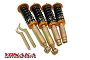 Yonaka Coilovers Suspension Shocks Struts Springs Set Kit For Acura Tl 2004-2008