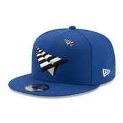 Roc Nation Paper Planes With Pin Authentic New Era 9fifty Snapback Cap - Blue
