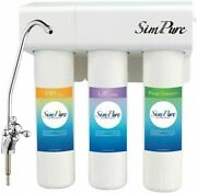 Simpure 3 Stage Tankless Whole House Under Sink Uf Water Purifier Filter System