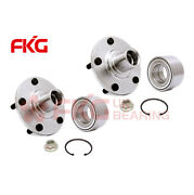 Pair 2 Front Wheel Hub And Bearing And Kits For Toyota Camry Solara Rx300 Awd 518508