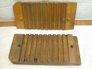 Miller Dubril And Peters Durex Wooden 10 Cigar Mold Press Tobacco Factory Wood