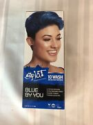 Splat Rebellious Colors Blue By You 10 Wash No Peroxide Temporary Hair Dye 6 Oz.