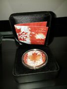 1965-2015 Canada 50 Years Of Our Flag .9999 Silver / 24k Gold Face 'd 417/500