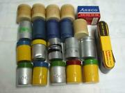 21 Vintage Kodak Agfa Ansco Camera Film Containers Canisters Tin Cardboard Boxes