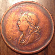 1834 Lower Canada George Ord Token Ireland Super Scarce - Cleaned