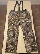 Under Armour Storm Realtree Edge Camo Hunting Overall Pants 1316736-991 Sz Xl