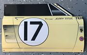 Wow Curved Jerry Titus 1967 Ford Mustang Trans Am Series 17 Door Style Sign