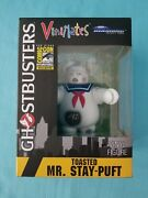 Ghostbusters Toasted Mr. Stay Puft Vini Mates Figure Sdcc 2017 Diamond Select