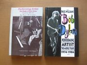 Bob Dylan Biography By Paul Williams - Vol. 1 And 2 - 1st Hc 1990