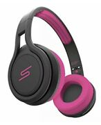 Sms Audio Street By 50 Wired On-ear Sport Headphones With 3-click Mic, Pink
