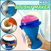 Smoothie Maker Cup Squeeze Quick Frozen Durable Slushy Ice Cream Cooling Mug