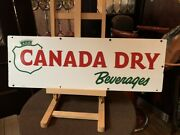 30 Porcelain Canada Dry Advertising Sign  Watch Video
