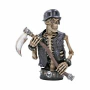 Nemesis Now Ride Out Of Hell 30cm Skull Gothic Biker Statue Hell Biker Ornament