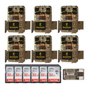 Browning Trail Cameras 20mp Spec Ops Edge Trail Camera 6-pack Complete Bundle