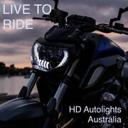 Led Projector Headlights With Drl For 2018-2019 Yamaha Mt07 And Mt-07