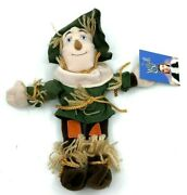 2 Wizard Of Oz Beanies 1998 Warner Bros Cowardly Lion And Scarecrow Dolls 10 [13]