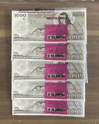 Lot Of Over 300 Mexico Bills Banknotes, Series