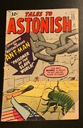 Tales To Astonish 41 Ant-man Mar 1963 Cover Torn But Nice Interior 2.0 Gd