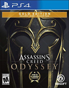 Assassins Creed Ody Gold Ps4 Game New