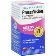 Preservision Areds Eye Vitamin And Mineral Soft Gels - 120ct Pack Of 10